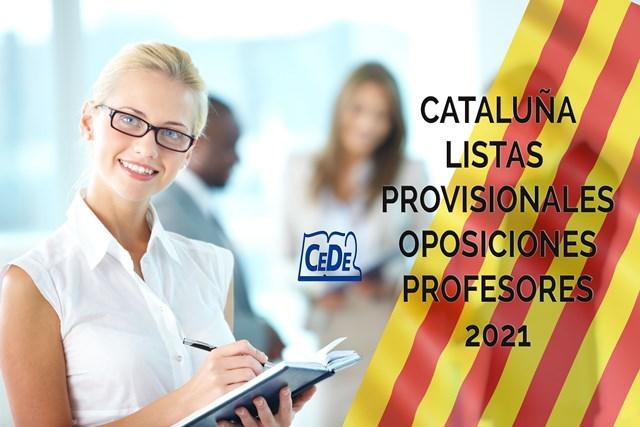Cataluña publicadas listas provisionales de admitidos