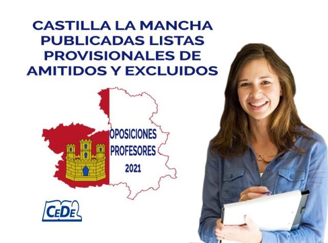 Castilla la Mancha publicadas listas