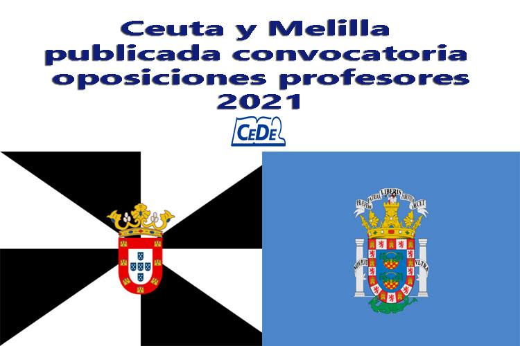 Ceuta y Melilla publicada convocatoria oposiciones profesores