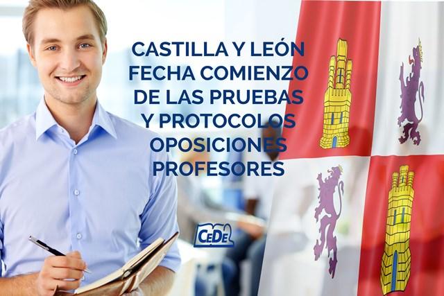 Castilla y León fechas comienzo de las pruebas