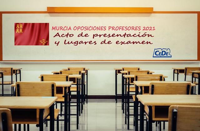 Murcia publicados lugares de examen y fecha acto presentación