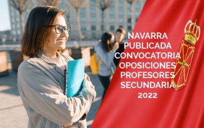 Navarra publicada convocatoria oposiciones profesores secundaria