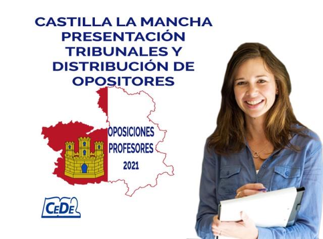 Castilla la Mancha presentación y tribunales de las oposiciones profesores