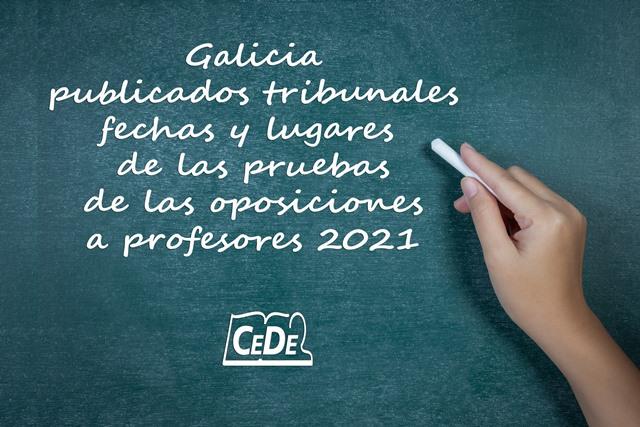 Galicia publicados tribunales