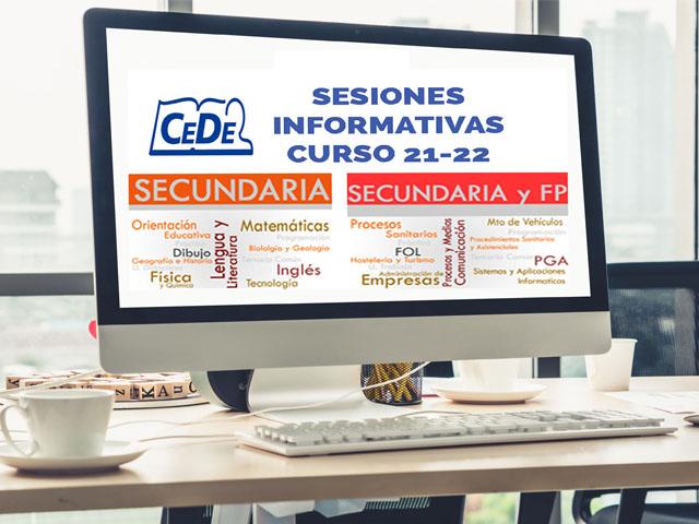 Sesiones informativas cursos preparación oposiciones profesores