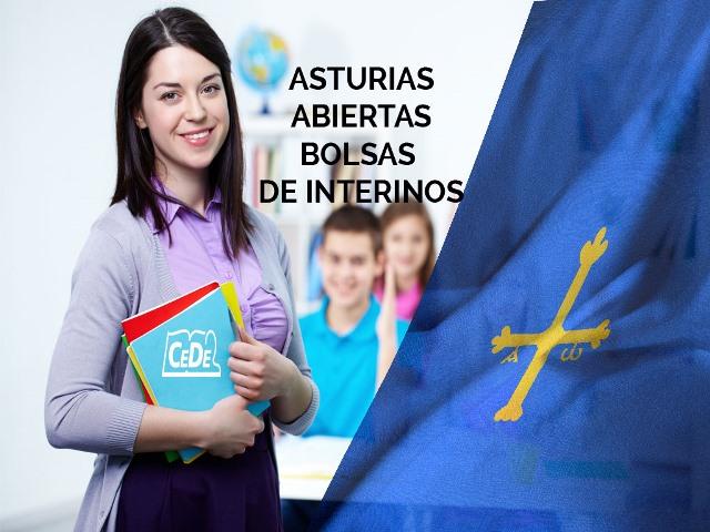 Asturias abiertas bolsas de interinidad