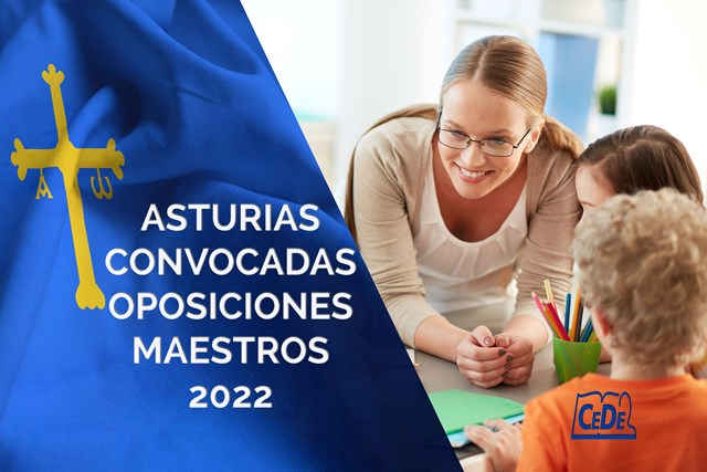 Asturias convocatoria oposiciones maestros